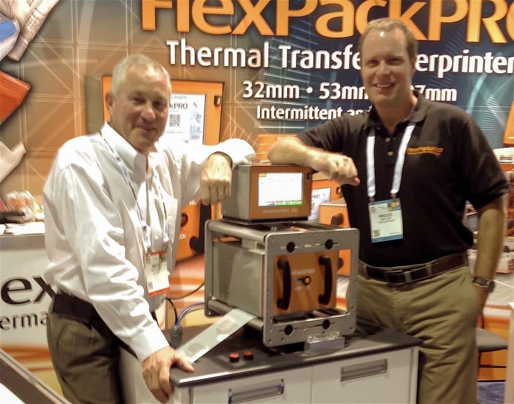 thermal transfer overprinter FPP PackExpo team