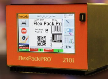 thermal transfer overprinter FPP 210i