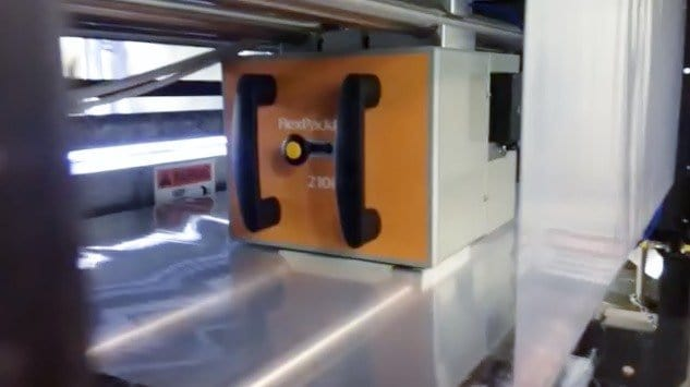 thermal transfer overprinter FPP 210i installation