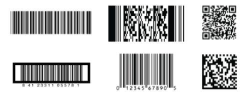 thermal transfer overprinter FPP barcode samples