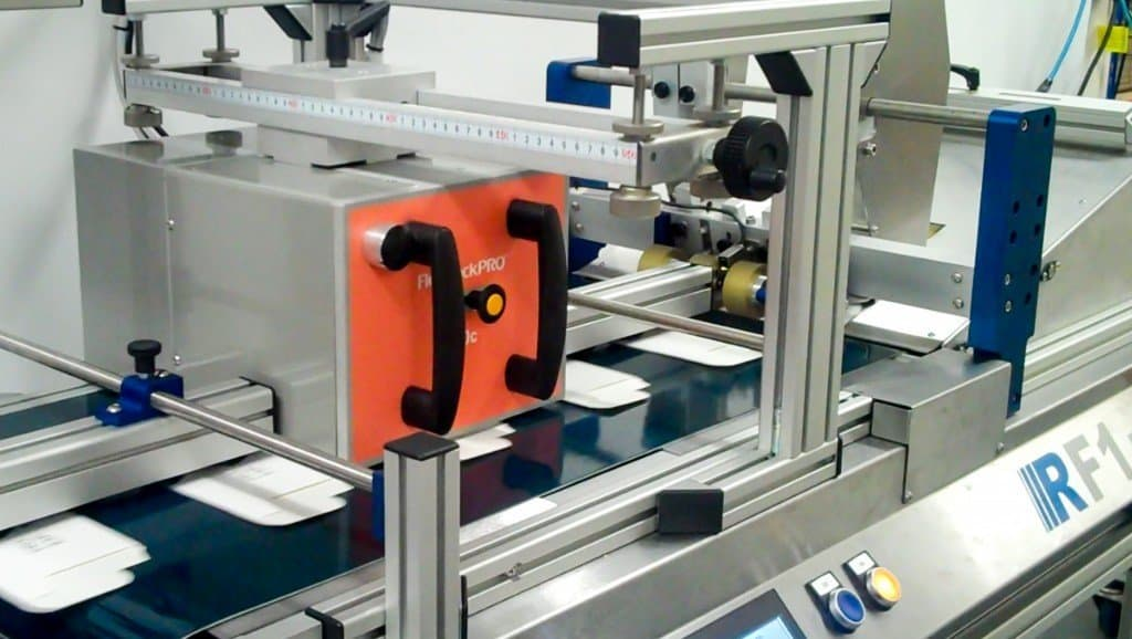 flexpackpro in assembly line, example of TTO application