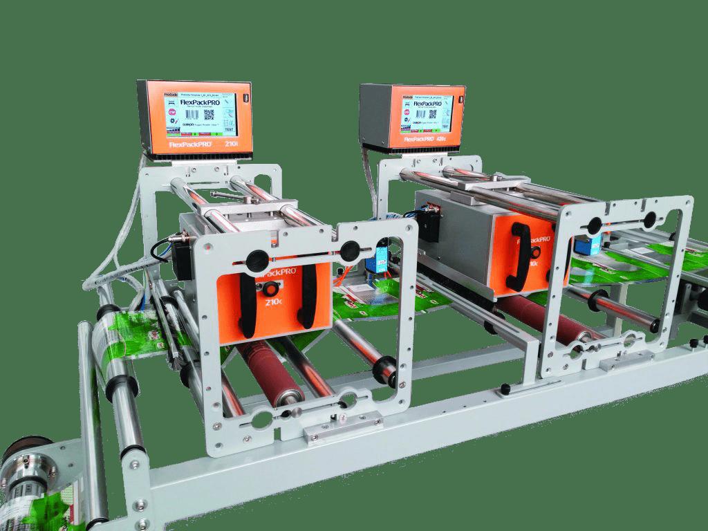 thermal transfer overprinter FPP unwind rewind system 2