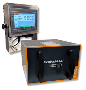 FlexPackPRO 420iXT Thermal Transfer Overprinter with Stainless Steel Controller